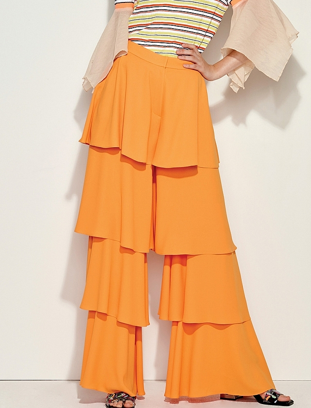 Casade Pant in Orange